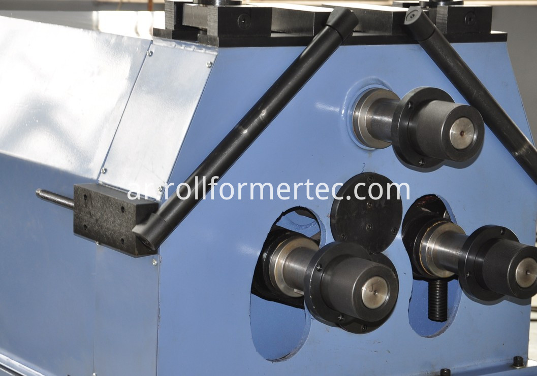 3 roller angle bending machine 1