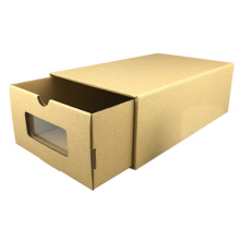 Cheap Strong Customized Sliding Corrugated Shoe Boxes