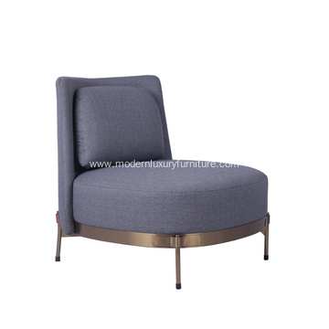 Modern Fabric Tape Armchair For Sale