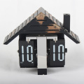 3D House-shape Flip Clock