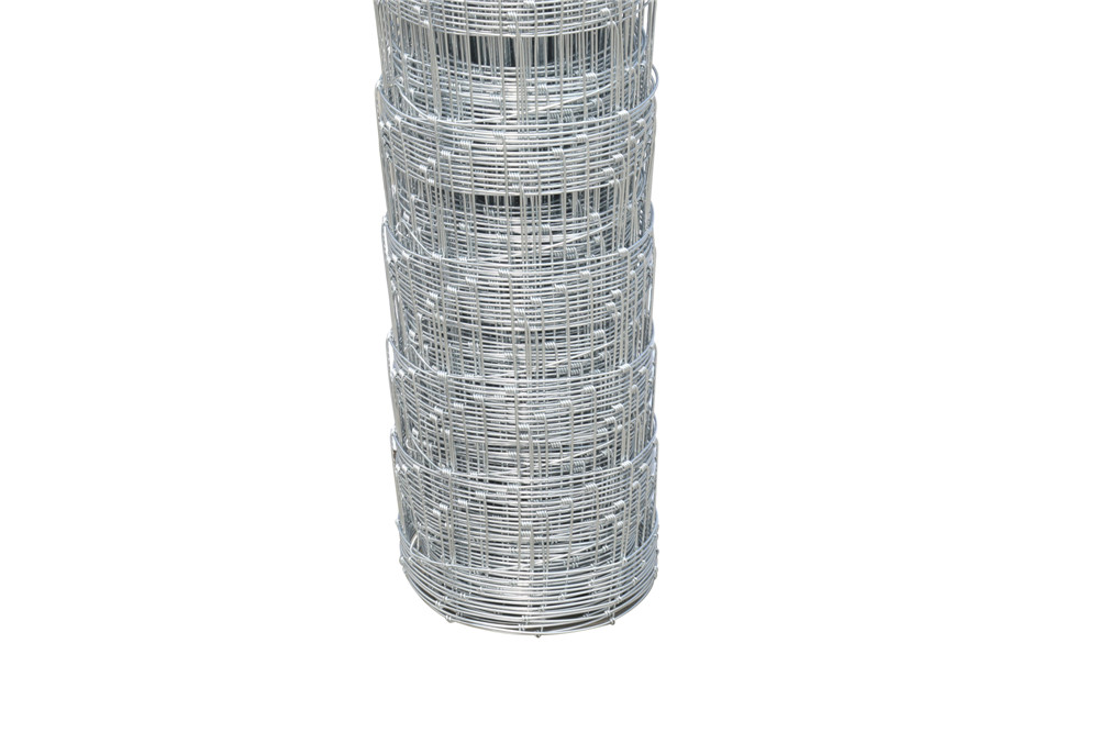 Hot-dipped galvanized wire field fence