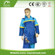 Kid 190T Polyester / Waterproof Coating Raincoat