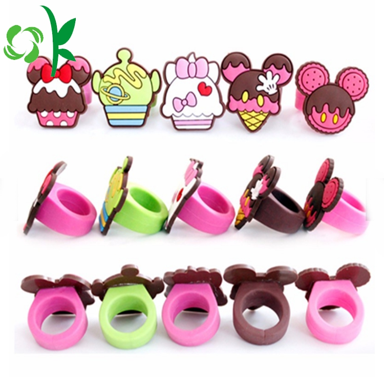 Ice Cream Silicone Ring