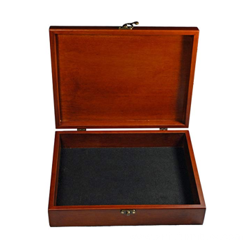 OEM/ODM for wood boxes Wholesale classic brown wooden box supply to Saint Lucia Wholesale