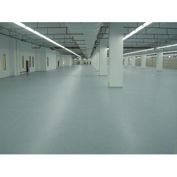 Emery wear-resistant floor paint