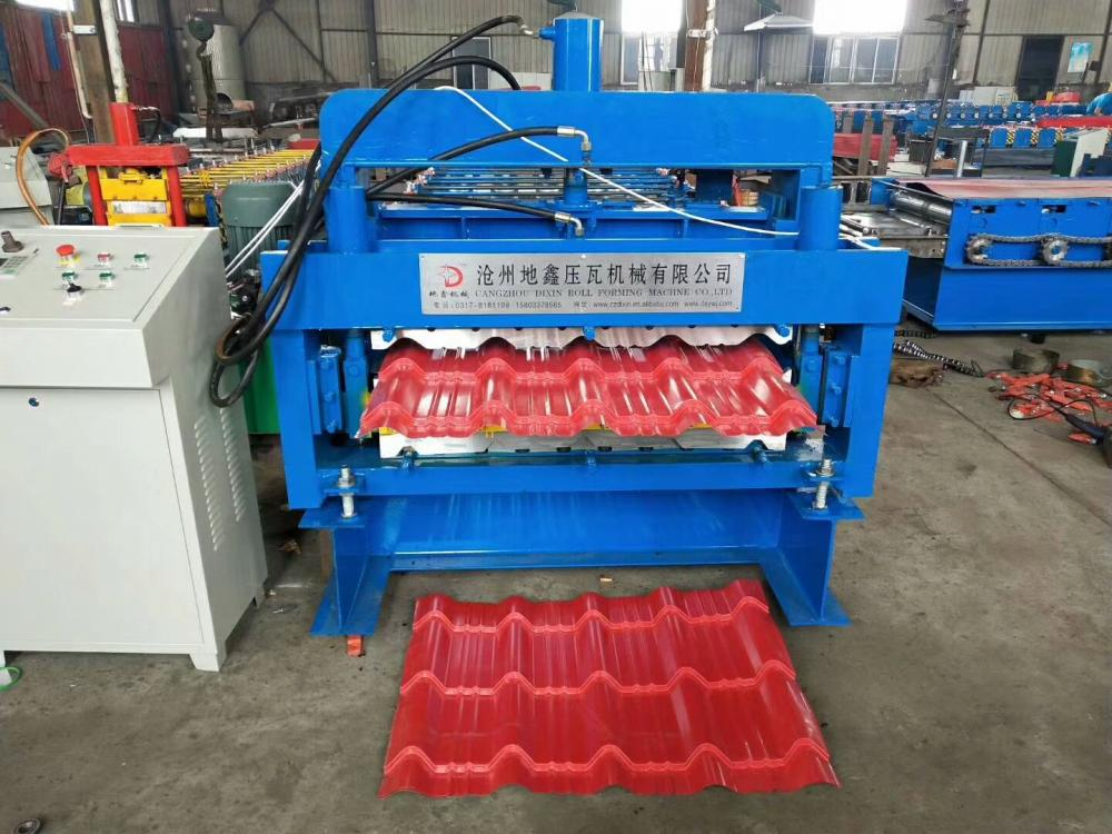 Roof Sheet Double Deck Forming Machine