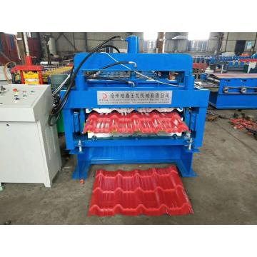 Double layer roof tile making machine price
