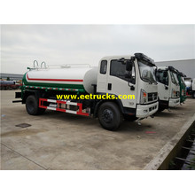 6ton 115hp Transportation Water Tank Trucks