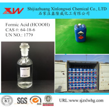 Low price for Leather Chemicals concentration Formic acid tech grade export to United States Suppliers