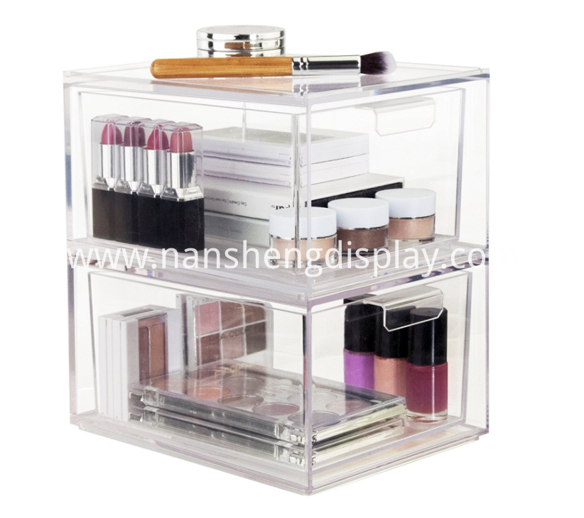 Stackable Cosmetic Storage