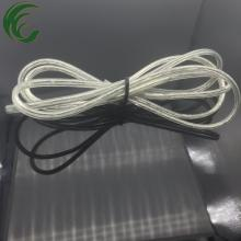 2*0.75mm2 transparent power cord