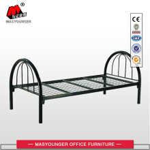 Europe style for for Steel Single Bed Black Single Mash Metal Bed supply to Monaco Suppliers