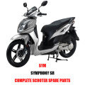 SYMPHONY SR for SYM Complete Scooter Spare Parts Original Spare Parts