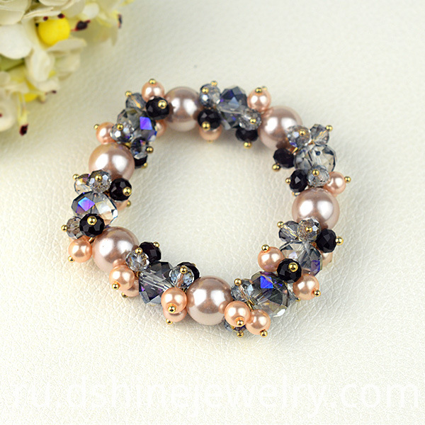 Shiny Beads Stretch Bracelets