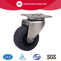 Stainless 2 Inch 40Kg Plate Swivel PU Caster