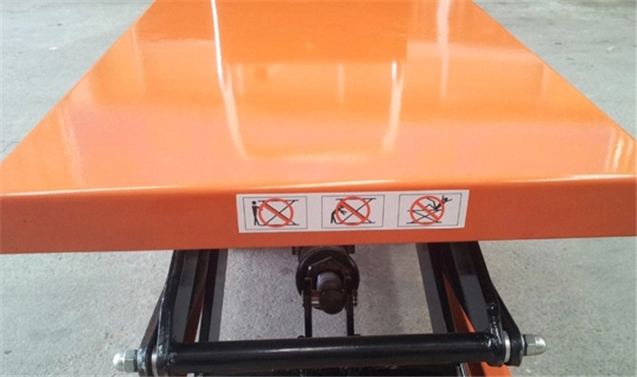 Hydraulic Scissors Lift Trolley