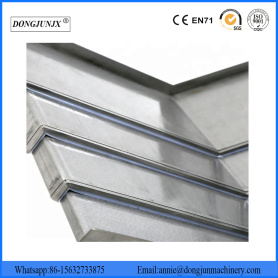 Steel Plate Cover Telescopic Steel Bellow Cover
