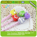 Pencil topper eraser mini stationery