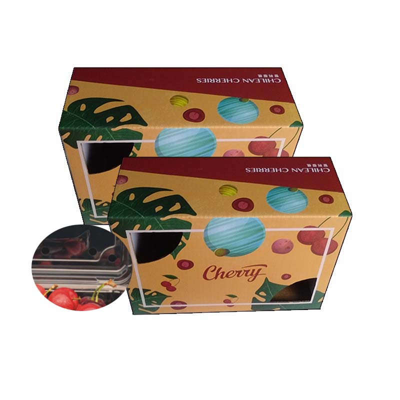 Full Color Printed Cherry Box