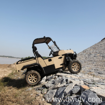 Four-wheeled  two-seater UTV/ATV