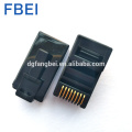 Factory price 8P8C rg45 rj45 cat5e connector