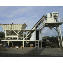 25 Ready Mixed Mobile Concrete Batch Plant