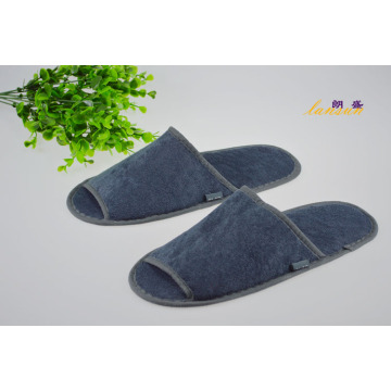 Airline Slipper Toalla de color gris Terry Slipper