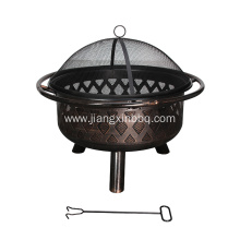 Good Quality for Outdoor Fireplace,Patio Fire Pit,Outdoor Firepit Manufacturers and Suppliers in China Garden Treasures Black Steel Wood Burning Fire Pit supply to Poland Importers