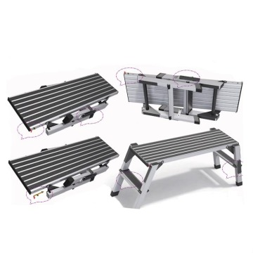 High standard aluminum steps