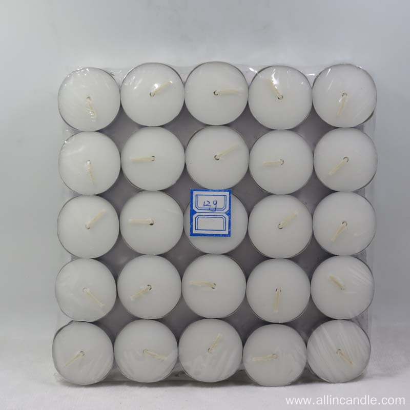 Home decoration Malaysia market 12g tealight candle