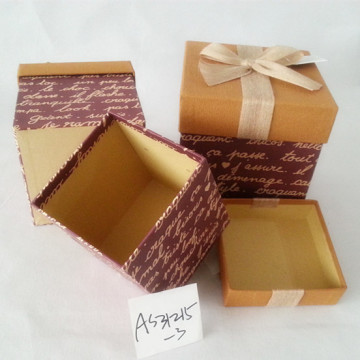 High end paper cosmetic packing cardboard box