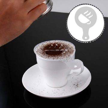 Stainless Steel Christmas Decorating Coffee Stencil Set
