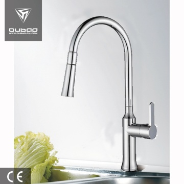 One Handle Pull Down Kitchen Tap With Spray
