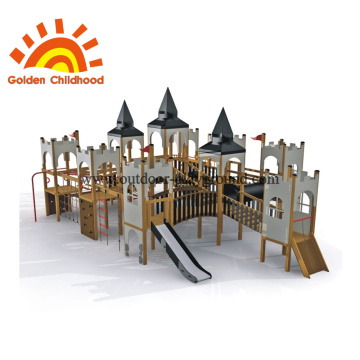 Children outdoor park equipment baby playground slide