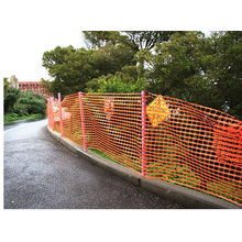 Good Quality for Barrier Safety Fence plastic Safety Fence mesh export to Poland Manufacturers