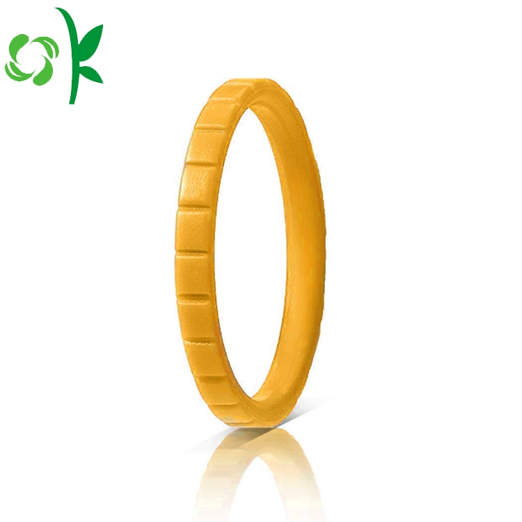 YELLOW silicone ring