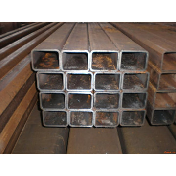 Sch40 Black MS Cold Drawn Seamless Square Steel Pipe