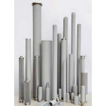 316L Stainless Steel Sintered Powder Filter cylinder