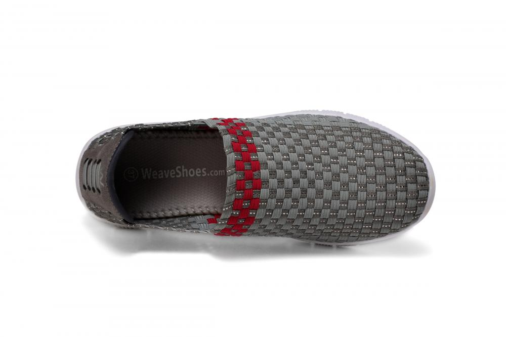 Comfortable Tread Fabric Woven Loafers