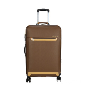Factory provide nice price for Fashion Trolley Luggage Leisure Type Soft Trolley Luggage export to Austria Supplier