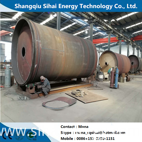 Pyrolysis Facility To Oil