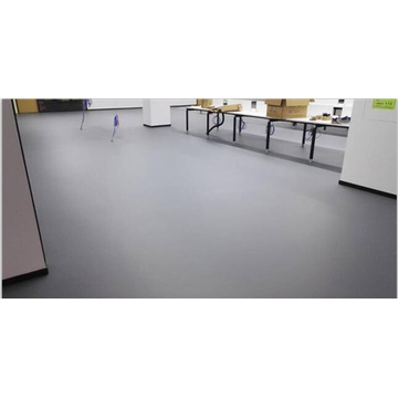 Semi-matte wear-resistant epoxy self-leveling