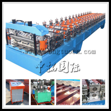 Production Line For Sandwich Panels,Steel Roof Cold Roll Forming Machine
