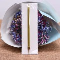 Supply high quality gold silver pencil shape birthday cake candle