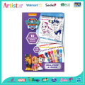 PAW PATROL Stamp colouring set