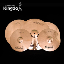 Professional B20 bronze drum set Cymbals