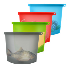 Seal Fresh Vegetable Storage Silicone Food Bag