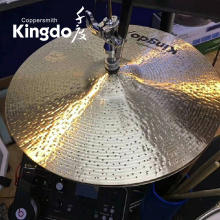 "Good Quality for Hi-Hat Cymbal For Drum High Quality Professional 14"" HI-HAT Cymbals supply to Gibraltar Factories"