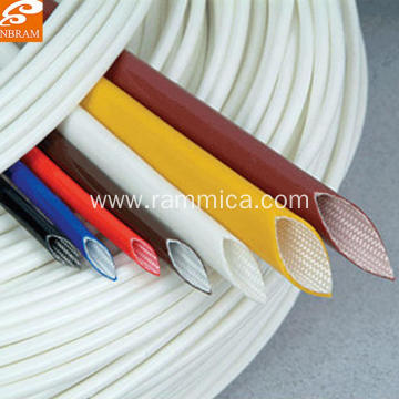 Silicone fiberglass insulation sleeve