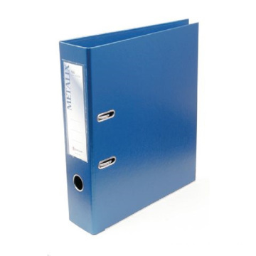 Loose-leaf insertable perforated double-hole folder